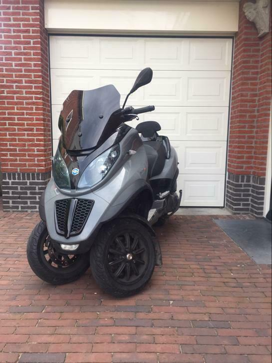 Piaggio Mp3 500 lt 2011 Nardo Grey
